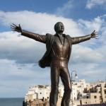 Domenico Modugno Statue