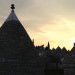 Sunset in Alberobello