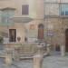 Asciano, square