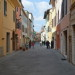 Asciano, street
